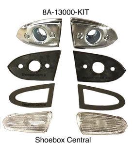 8A-13000-KIT 1949 Ford Park Parking Light Turn Signal Indicator Kit