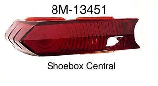 8M-13451 1949 1950 Mercury Left Hand Driver Side Tail Light Lens