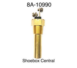 8A-10990 1949 1950 1951 1952 1953 Ford Double Prong Temp Temperature Sender Sensor