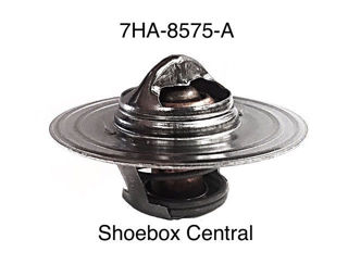 7HA-8575-A 1949 1950 1951 Ford 6 Cylinder 180 degree thermostat