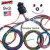 Rebel Wiring 9 + 3 Universal Street Rod Wiring Harness