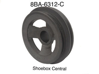 8BA-6312-C 1950 1951 1952 1953 Ford Mercury V8 Narrow Belt Crank Shaft Crankshaft Pulley