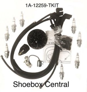 1A-12259-KIT 1951 1952 1953 Ford Mercury Flathead V8 Tune Up Kit Complete Shoebox Central