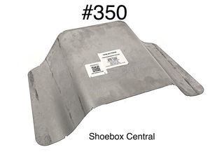 350 1949 1950 Ford OEM Stock Transmission Inspection Access Floor Cover