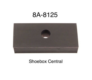 8A-8125 1949 1950 1951 Ford Lower Radiator Core Support to Frame Rubber Pad Block