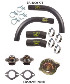 1BA-8000-KIT 1949 1950 1951 1952 1953 Ford Flathead V8 Complete Cooling System Repair Service Kit
