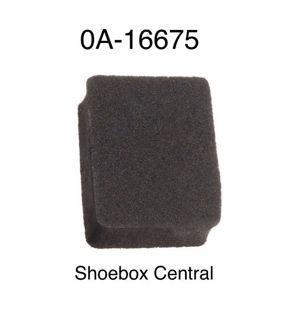 0A-16675 1950 1951 Ford Hood Bonnet Trunk Boot Deck Lid Emblem Badge Foam Pad Rubber Insulator