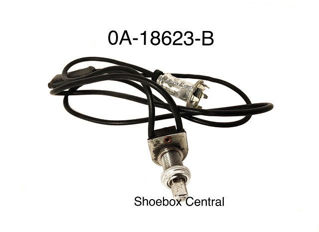 0A-18623-B 1950 Ford Heater Control Unit Light Switch Assembly