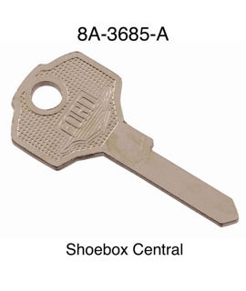 8A-3685-A 1949 1950 Ford Door Ignition Key Blank