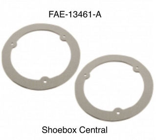 FAE-13461-A 1953 1954 Ford Tail Light Lens Gasket