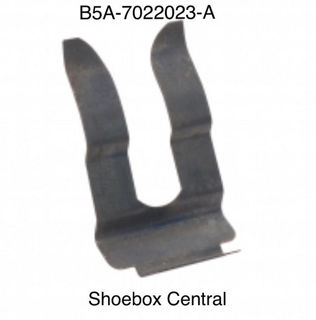 B5A-7022023-A 1952 1954 Ford Door Lock Cylinder Retainer
