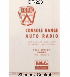 df-223-1953-ford-deluxe-radio-owners-manual