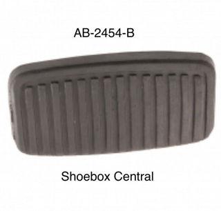 ab-2454-b-1952-1954-ford-brake-pedal-pad-automatic