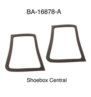 BA-16878-A 1952 1953 1954 Ford Hood Bonnet Hinge to Body Firewall Seal Gasket Rubber Pad