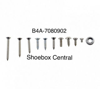 B4A-7080902 1954 Ford Interior Trim Screw Kit