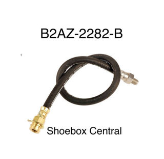 B2AZ-2282-B 1952 1953 1954 Ford Rear Brake Hose Hydraulic Rubber Flex Line