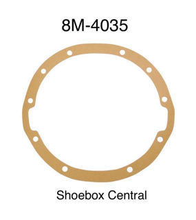 8M-4035 1949 1950 Mercury Differential Housing Rear End Gear Section Cover Gasket Seal