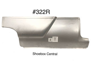 322R 1952 1953 1954 Ford Two 2 Door Right Hand Passenger Side Lower Front Quarter Panel Smooth