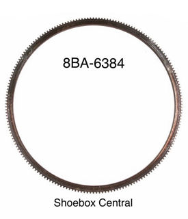8BA-6384 1949 1950 1951 1952 1953 Ford V8 Flywheel Ring Gear