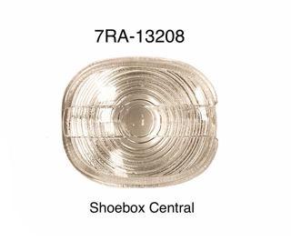 7RA-13208 1949 Mercury Park Parking Light Turn Signal Lens Glass