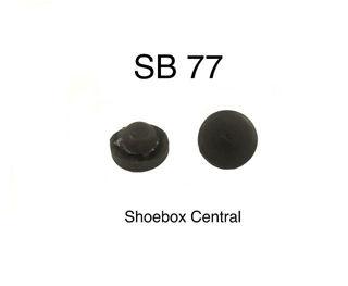 SB 77 1949 1950 1951 Mercury Glove Box Door Compartment Rubber Bumpers
