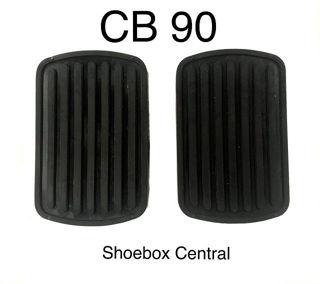 CB 90 1949 1950 1951 Mercury Brake Clutch Pedal Rubber Pad