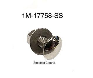 1M-17758-SS 1951 Mercury Chrome Bumper Bolt