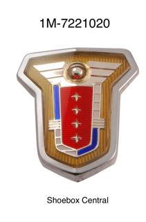 1M-7221020 1951 Mercury Monterey Exterior Door Emblem