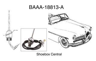 BAAA-18813-A 1949 1950 1951 Mercury Radio Antenna Kit