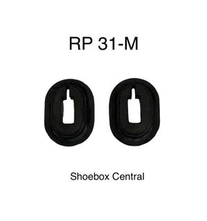 RP 31-M 1949 1950 1951 Mercury Brake and Clutch Pedal Rubber Bumpers Seals