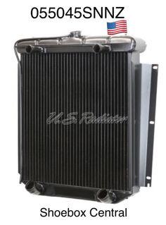055045SNNZ 1952 1953 Mercury V8 Flathead 4 Four Core Desert Cooler Radiator