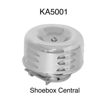 KA5001 Ford Flathead V8 Chrome Louvered Air Cleaner Hot Rod