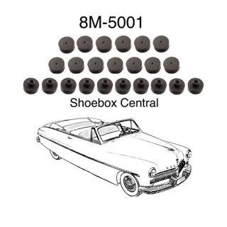 8M-5001 1949 1950 1951 Mercury Body to Frame Kit