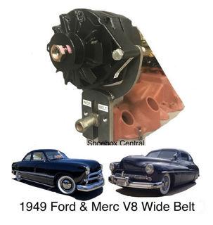 Ford Flathead V8 Wide Belt Alternator Bracket