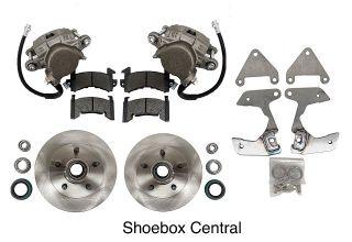 EC-721FCK 1949 1950 1951 1952 1953 Ford Shoebox Front Disc Brake Conversion Kit