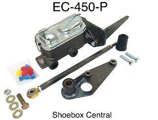 EC-450-P 1949 1950 1951 Ford Basic Dual Reservoir Master Cylinder Conversion Kit