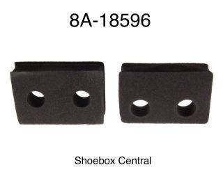 8A-18596 1949 1950 1951 Ford Heater Core Valve Foam Rubber Gaskets Seals Firewall