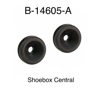 B-14605-A 1949 1950 1951 Ford Fresh Air Control Cable Rubber Grommet Grommets Plug