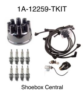 1A-12259-TKIT 1951 1952 1953 Ford V8 Complete Engine Tune Up Kit