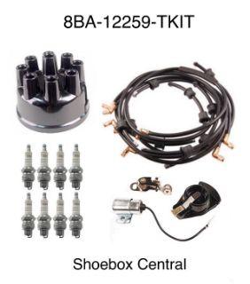 8BA-12259-TKIT 1949 1950 Ford Flathead V8 Ignition Tune Up Kit